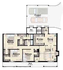 ranch style house plan 3 beds 2 00 baths 1365 sq ft plan 36 107