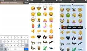 ios emojis on android enjoy the new unicode 9 0 emojis on ios right now with a simple