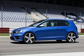 volkswagen golf blue 2015 volkswagen golf r side photo rising blue metallic color