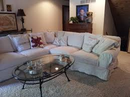 How To Slipcover A Sectional Living Room Slipcover Sectional Ashley Furniture Slipcovers For