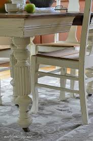 antique dining room table chairs chalk paint grandma s antique dining table and chairs hometalk
