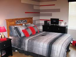 red and grey bedroom ideas still attractive with grey bedroom