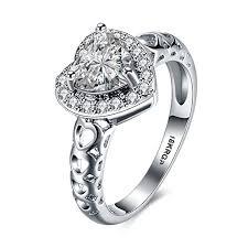 heart rings diamond images Dreamster heart cubic zirconia diamond rings for women jpg