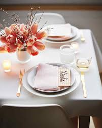 Table Setting Pictures by Passover Entertaining Ideas Martha Stewart
