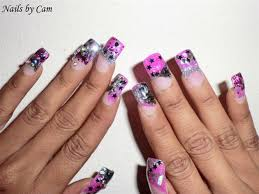 pink rockstar nails images