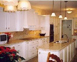 White Cabinets Granite Countertops Kitchen Marvelous Kitchens With White Cabinets And Granite Countertops M65