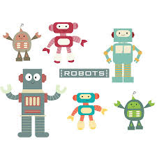 28 robot wall sticker robots wall decals and stickers large robot wall sticker robots fabric wall stickers by littleprints