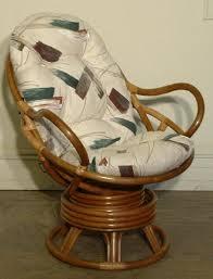 Rocking Chair With Cushions Rattan Swivel Rocker Cushion Indoor Rattan Furniture