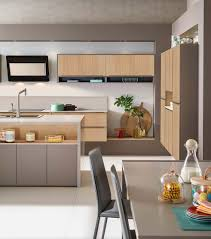 Contemporary Kitchen Contemporary Kitchen Wood Veneer Oak Corian Ambiance Loft