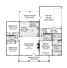 country home floor plans small country with open floor plan house for the