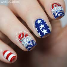 nailsbyerin mix u0026 match 4th of july nails