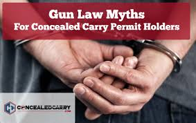 Reciprocity Map 10 Common Gun Law Myths For Concealed Carry Concealed Carry Inc