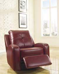 Red Leather Reclining Chair Best Furniture Mentor Oh Furniture Store Ashley Furniture