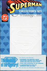 superman the wedding album superman the wedding album collector s set comic book by dc title