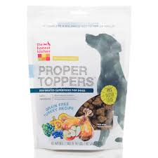 Honest Kitchen Dog Food Reviews by Honest Kitchen Proper Toppers Grain Free Turkey Dog Food Pouch