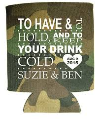 koozies for wedding to and to hold and keep your drink cold koozie