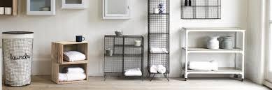 Metal Bathroom Storage Bathroom Storage Shelving And Units Loaf
