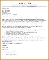 student internship cover letter