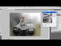 membuat latar belakang foto blur dengan photoshop membuat efek blur latar foto menggunakan photoshop youtube