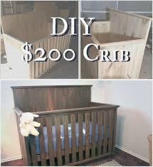 Convertible Crib Plans 12 Gorgeous Diy Baby Crib Plans For Handy Parents