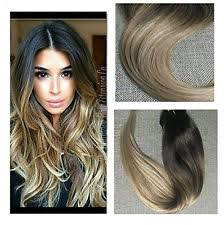 balayage hair extensions moresoo 20 inch clip in human hair extensions ombre balayage color