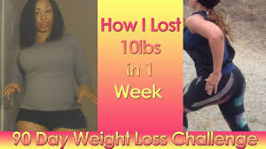 how i lost 10 pounds in 1 week weight loss challenge week 1