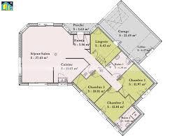 plan de maison en v plain pied 4 chambres houseboats plan maison individuelle beks