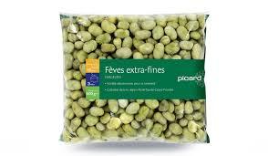 comment cuisiner les feves surgel馥s fèves fines surgelés les légumes picard