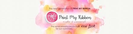 personalized ribbon printing personalized ribbon print my ribbon