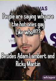 Ricky Martin Meme - are saying why are the hot ones gay like who besides adam