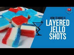 jello shots u2013 layered red white and blue vodka jello shots u2013 how