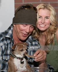 niki taylor and mickey rourke at hollywood choppers photos and