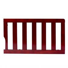 Convertible Crib Guard Rail On Me Universal Convertible Crib Toddler Guard Rail Cherry