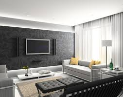Black And White Modern Curtains Adorable White Theme Living Room With White Modern Sofa Feature