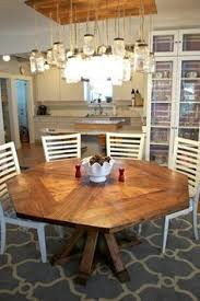 Diy Dining Room by Diy Octagon Dining Room Table With A Farmhouse Base Seats 8