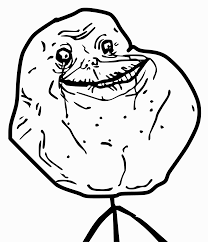 Forever Alone Meme Picture - clipart forever alone