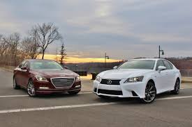 lexus gs430 vs 400 new u0026 old hyundai genesis vs lexus gs350 u2013 limited slip blog