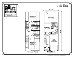 Townhome Floor Plans by 1461 Townhome In Aurora Place New Homes In Murfreesboro Tn