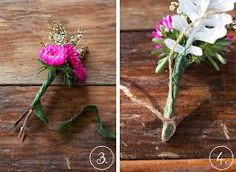How To Make Boutonnieres How To Make Your Own Boutonnieres