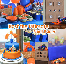 party goods nerf party ideas host the ultimate nerf party s fabulous