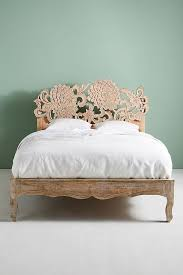 Lotus Bed Frame Handcarved Lotus Bed Bed Frames Bedrooms And Spaces