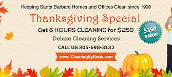 thanksgiving house cleaning special 350 value santa barbara