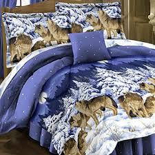 Wolf Bedding Set Fingerhut Midnight Wolves 8pc Bed Set