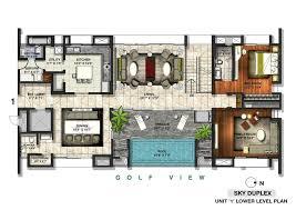 Duplex Floor Plans Australia Duplex House Plans With Swimming Pool