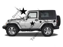 jeep rubicon matte black black ops decal kit fits jeep wrangler rubicon cherokee cj xj