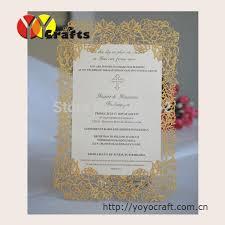 inc34 laser cut wedding invitation cards with envelopes blank