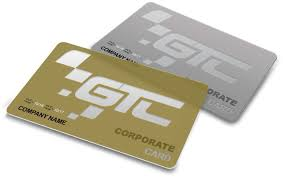 corporate card gtc race center