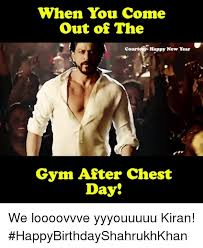 New Years Gym Meme - when you come out of the court happy new year gym after chest day