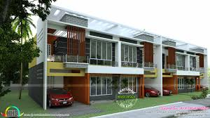 row house plan 1550 sq ft kerala home design bloglovin u0027