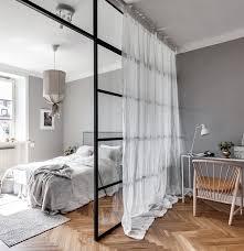 Grey Room Divider Grey Home With A Glass Partition Via Cocolapinedesign Com